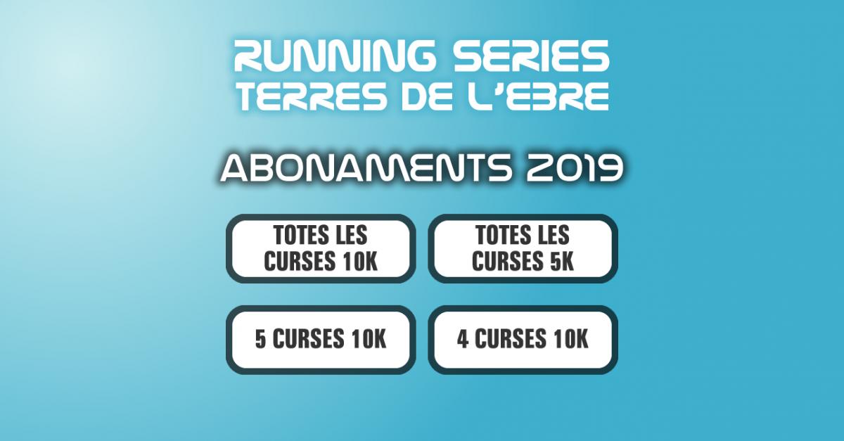 abonaments Running Series Terres de l'Ebre 2019