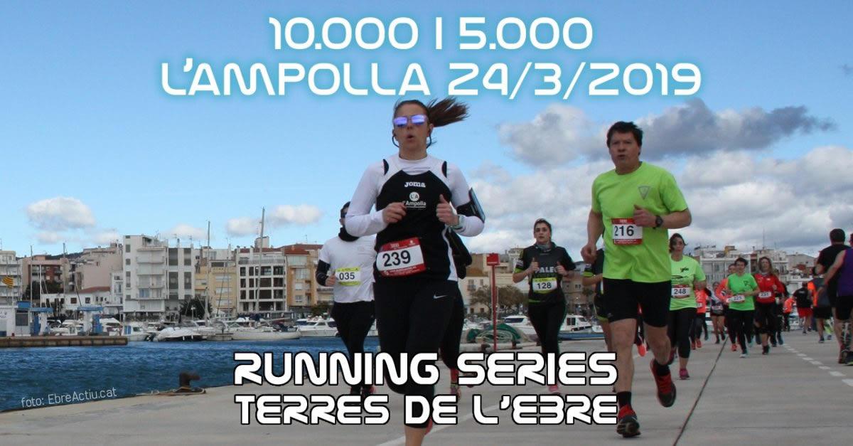 10K i 5K L'Ampolla 24/3/2019