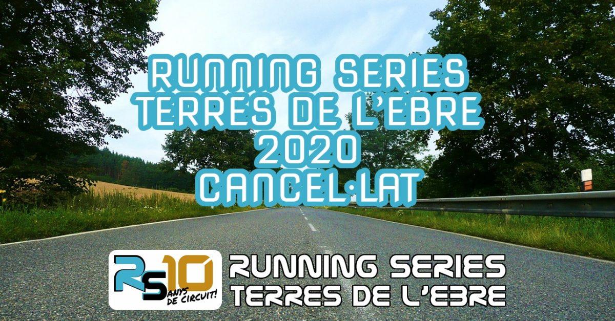 Running Series Terres de l'Ebre 2020, cancel·lat